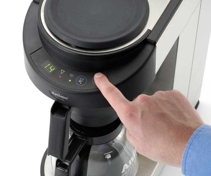 kaffeemaschine m202 mit wasseranschluss. Black Bedroom Furniture Sets. Home Design Ideas